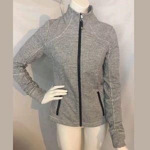 Lululemon ghost herringbone forme jacket 10